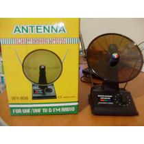 Antena Tv Amplificador De Señal Mejora Tu Imagen Uhf Fm Vhf