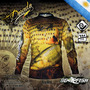 Remera Pesca Go Fish Dorado Tela Secado Rapido Proteccion Uv