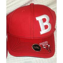Gorra Chicago Bulls Producto Nba Original - Unico!