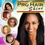 Fio De Ouro Pro Hair Shine Original Atacado 10 Pct Prata