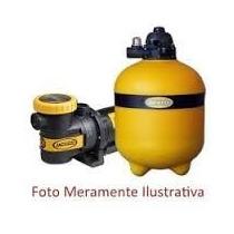 Conj. Filtro E Bomba P/ Piscina De Ate 130.000 Lts , Jacuzzi