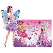 Barbie Butterfly E A Princesa Fairy - Fada Lilás - Mattel
