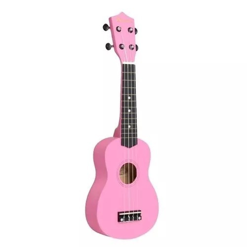 Ukelele Soprano Bamboo Sin Funda Linea Color Rosa - $ 1.498,00 en ...
