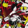 Animado - D12 - Animado Cartas y Calaveras - Ancho: 0.50m