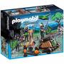Retromex Playmobil 6041 Caballeros Lobo Y Catapulta Medieval