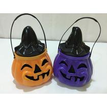 Calabazas Carameleras Con Caramelos Halloween Combo X 20