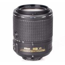 Nova Lente Nikon Af-s Dx Nikkor 55-200mm F/4-5.6g Ed Vr Ii