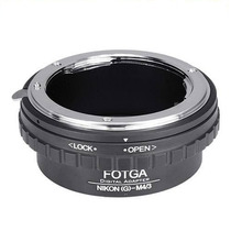 Adaptador Lente Nikon G F Ai Ais / M43 Olympus Panasonic