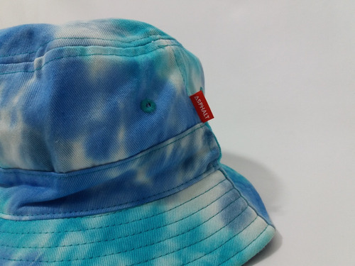 dbf69b7825e Bucket Hat Asphalt Yacht Club Chapéu Reversível Tie Dye - R  159