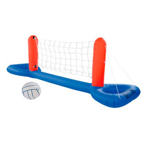 Red De Voley Para Piletas Inflable Con Pelota Bestway Pc