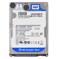 Disco Duro Western Digital 250 Wd2500bevt Sata 300 5400 2.5