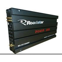 Modulo Amplificador Roadstar Power One 2400w Rs-4510amp