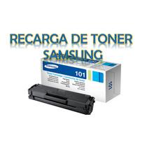 Recarga De Toner Samsung Ml D101 104 105 108 109 111 116 101