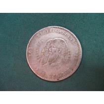 Moneda 1/2 Melgarejo De 1865, Bolivia Km # 145
