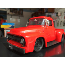 Camioneta For 100 A Escala 1:24 Modelo 1956 Colletion