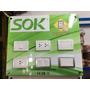 Nuevos Tomacorrientes E Interruptores Modelo Silver Sok