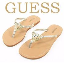 Sandalia De Vestir Para Dama Guess Style Clara2 Color Oro