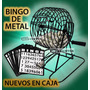 Bingo Tipo Profesional Bolillero D Metal + Cartillas Fichas