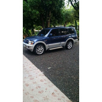 Moneto Pajero 2001 Color Azul Diesel