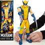 Wolverine Guepardo Marvel Muñeco De 30 Cm Original Hasbro