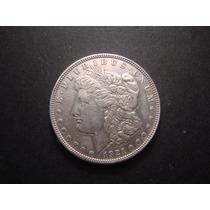 Moneda De Estados Unidos Un Dolar Morgan 1921 Plata Mirala!
