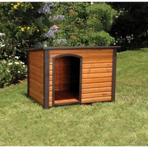 Dog House Pet Products Precision Outback Extreme Log Cabin