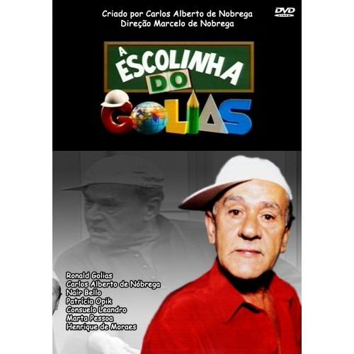 dvd da escolinha do golias