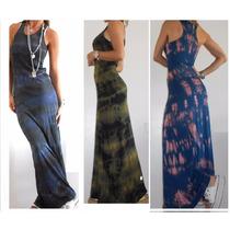 Vestidos Largos/cortos Morley Negro-gris-rayado/ F. Leggins