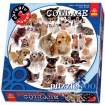Rompecabezas Perros Y Gatos Circular 68cm 300 Pz Trefl 39008