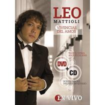 Leo Mattioli - Vivencias De Amor Dvd + Cd