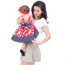 Kit Vestido Infantil Princesa 1 Aninho Fábrica Kids 10 Peças