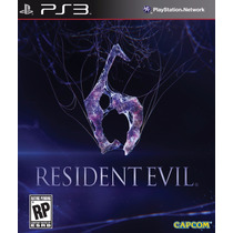 Resident Evil 6 Ps3 - Re6 Legendado Em Português