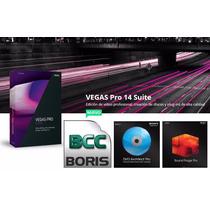 Sony Vegas 14 Pro Suite, La Version Mas Completa X Descarga