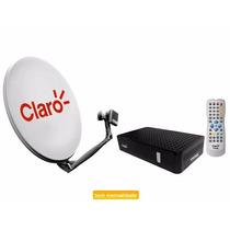 Kit Claro Livre Pre Com Receptor+antena+lnbf+cabo