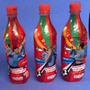Botellas Seleccion Uruguaya Coca Cola, Lugano, Abreu Forlan