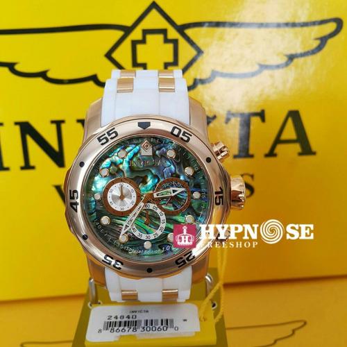 2d97a7b1bd8 Relógio Invicta 24840 Pulseira De Borracha + Maleta Slot 1 - R  649 ...