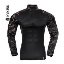 Camisa Combat Raptor Multicam Black.