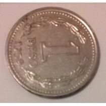 Moneda Argentina De 1 Peso 1959 Reverso Girado Excelente!!!