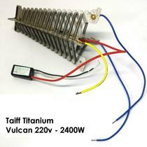 Resistência 2400w Secador Taiff Titanium / Vulcan 220v