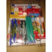Material Escolar - Kit 26 Itens