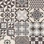 Ceramica Esmaltada Alberdi 32x60 Marrakech Negro 1ra Calidad