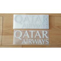 Estampado Publicidad Sponsor Qatar Airways Barcelona Messi
