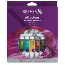 Oleos Reeves X 18 Colores En Pomos De 10 Ml.