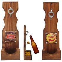 Abridor De Garrafas Rústico -cerveja-churrasco-bar