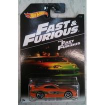 Rapido Y Furioso Hotwheels 1/64 2016 Nueva Serie De 6 Pzas