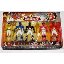 Set Figuras De Power Rangers Coleccion