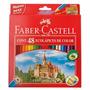 Lapiz Faber Castell Original Caja X48 Lapices Colores Largos