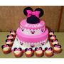 Tortas Decoradas Infantiles Artesanales Mickey - Minnie