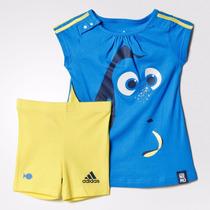 Conjunto Adidas Bebé Disney Buscando A Nemo