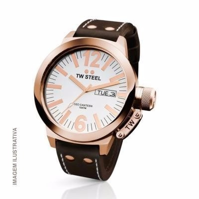 992ffbc8623 Liquidação - Relógio Tw Steel Ceo Canteen - 45mm - L26 - R  999